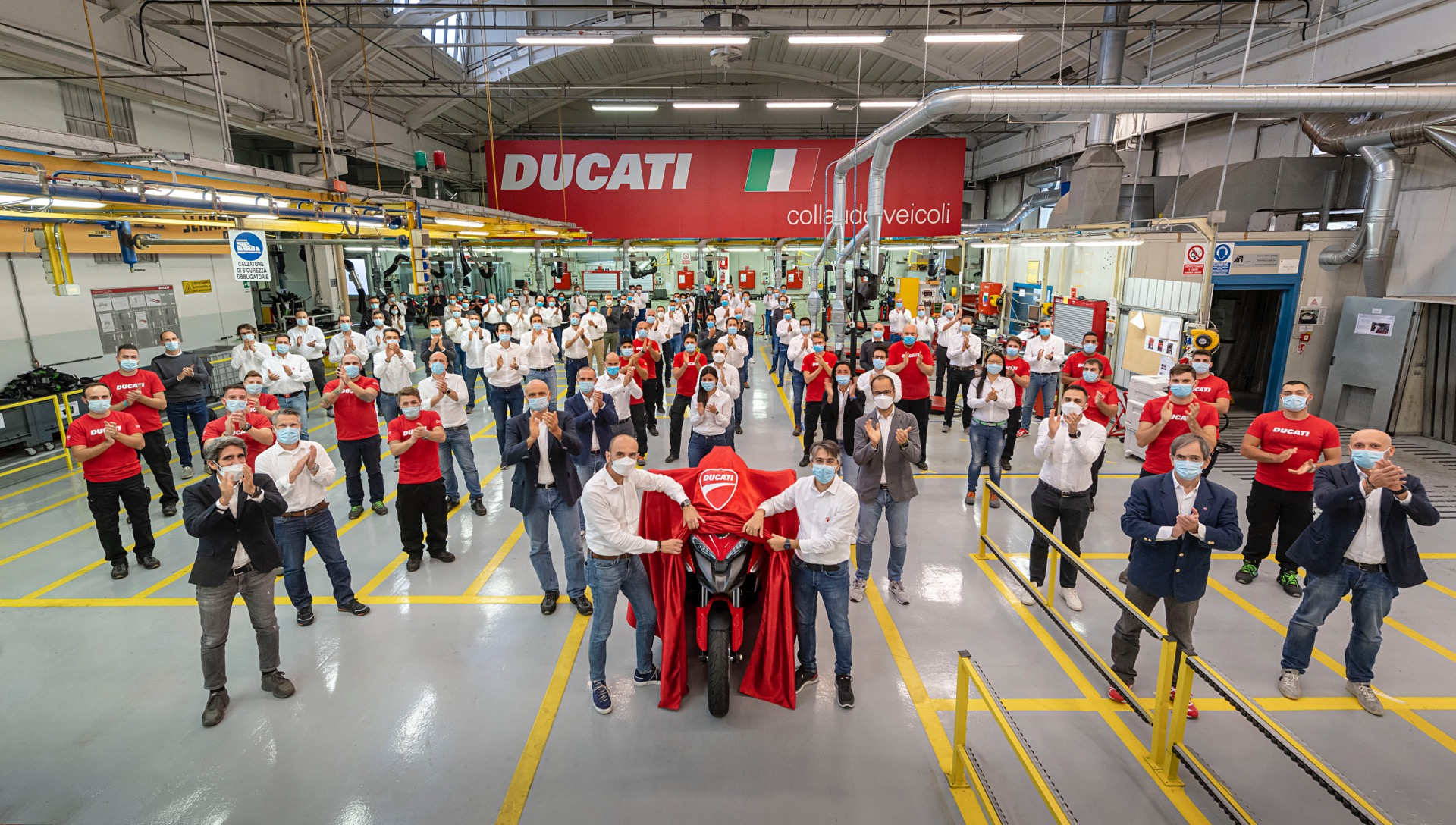 Ducati Multistrada V4 2020 Radar